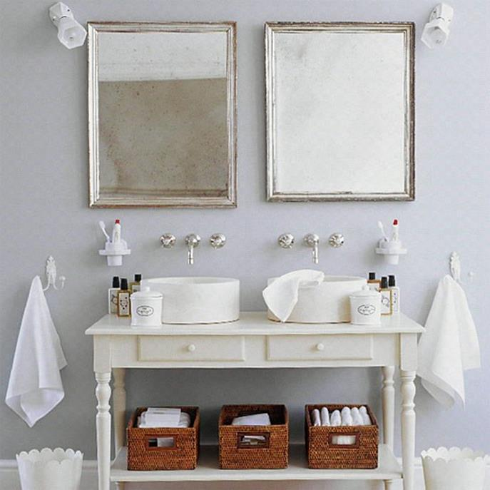 Farmhouse Style Bathroom Sink Ideas 38