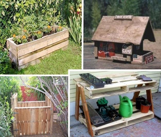 Gardening Ideas With Wood Pallets 39