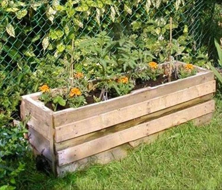 Gardening Ideas With Wood Pallets 7