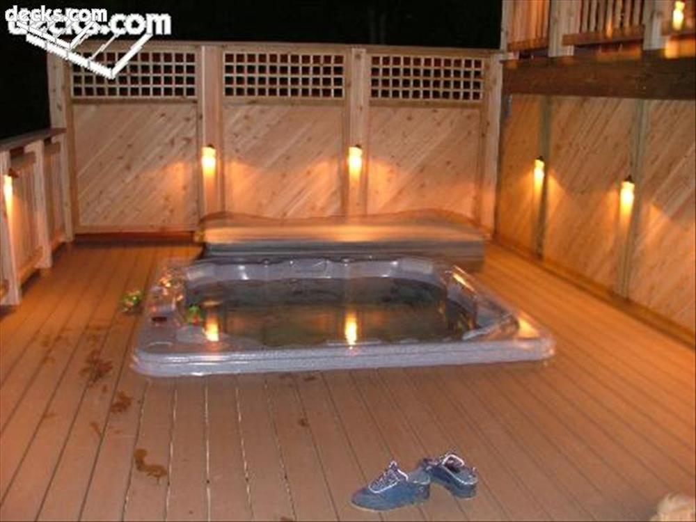 Perfect Outdoor Hot Tub Privacy Ideas 20