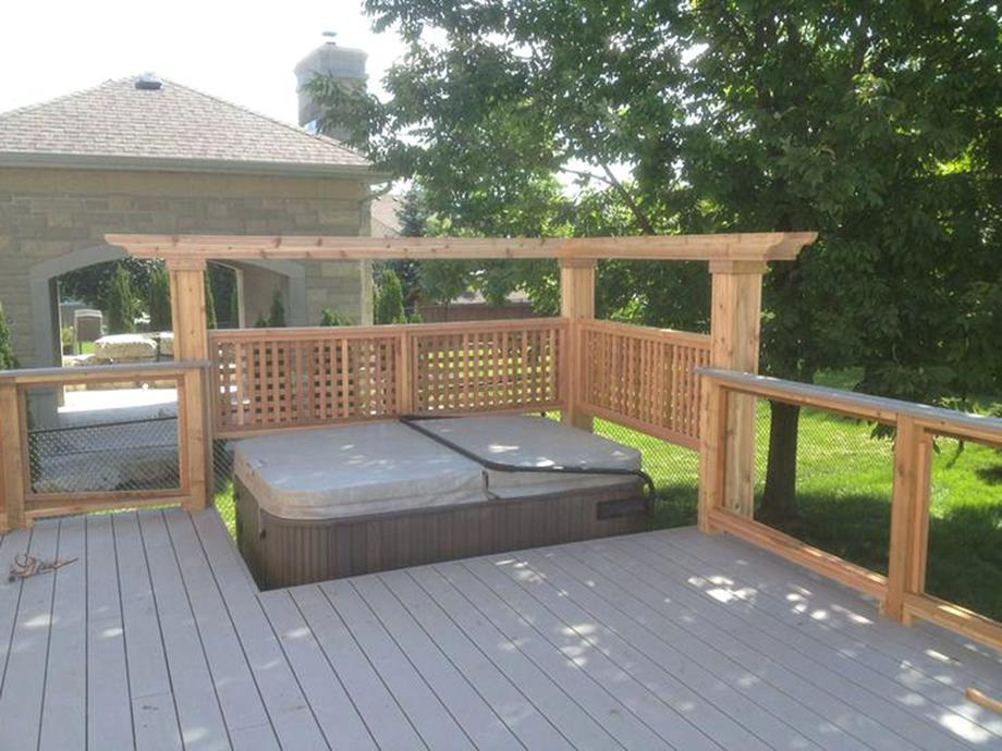 Perfect Outdoor Hot Tub Privacy Ideas 6