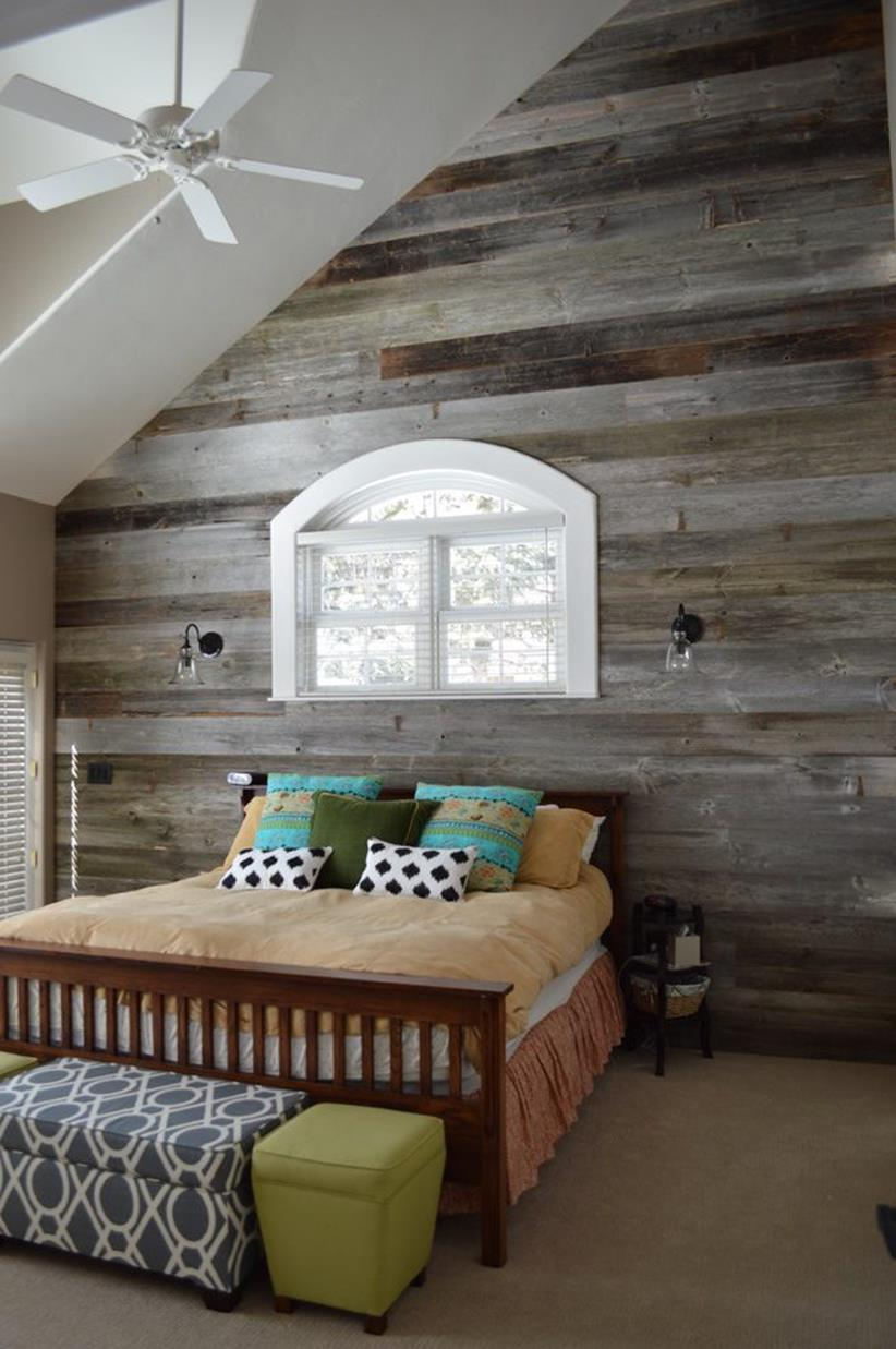 Rustic Bedroom Wall Decorating Ideas 12