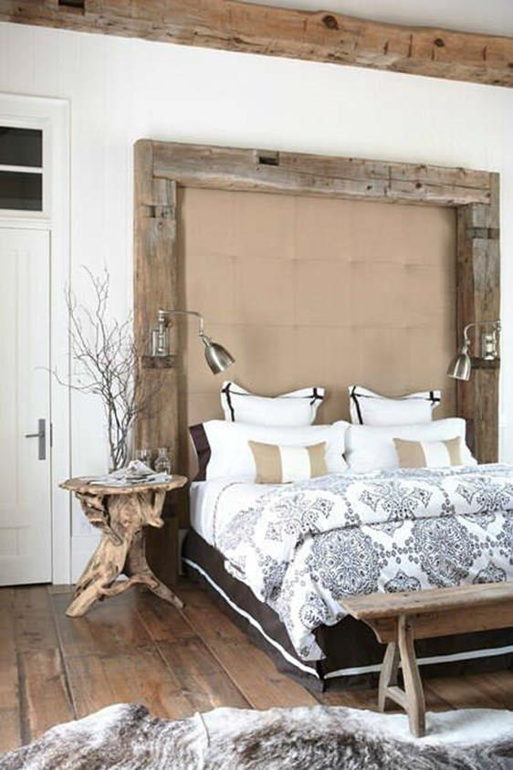 Rustic Bedroom Wall Decorating Ideas 20
