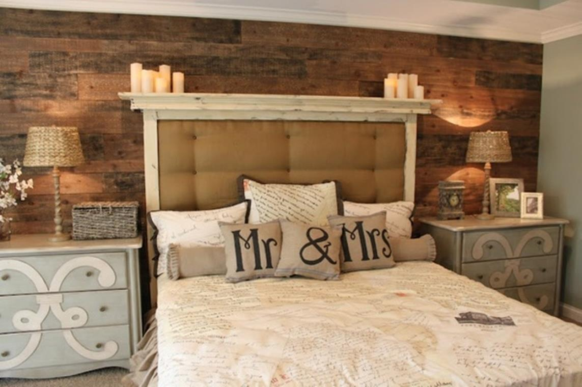 Rustic Bedroom Wall Decorating Ideas 8