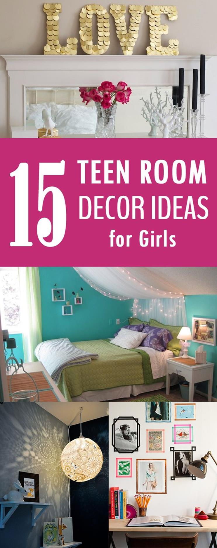 Simple Teen Girls Bedroom Decorating Ideas 12