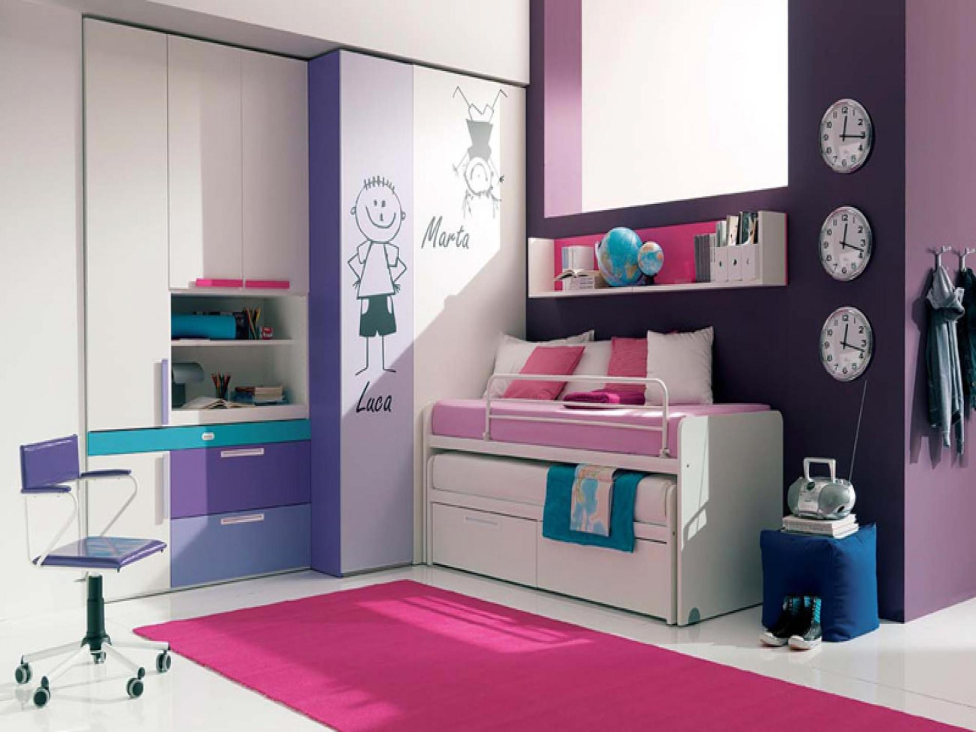 Simple Teen Girls Bedroom Decorating Ideas 21