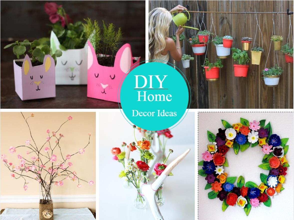Creative Homemade Crafts for House Decorations Ideas 2
