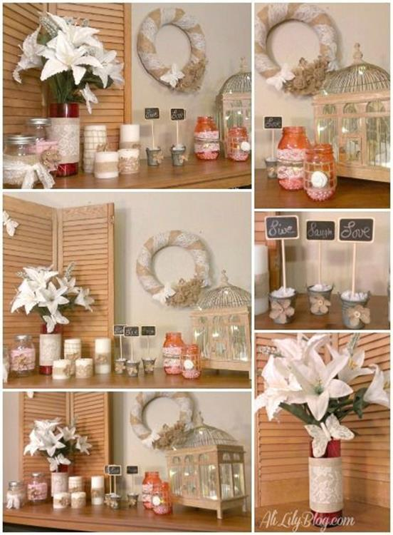 Creative Homemade Crafts for House Decorations Ideas 21