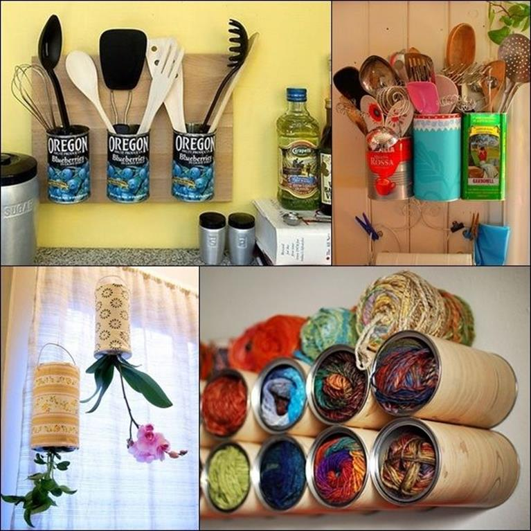 Creative Homemade Crafts for House Decorations Ideas 35