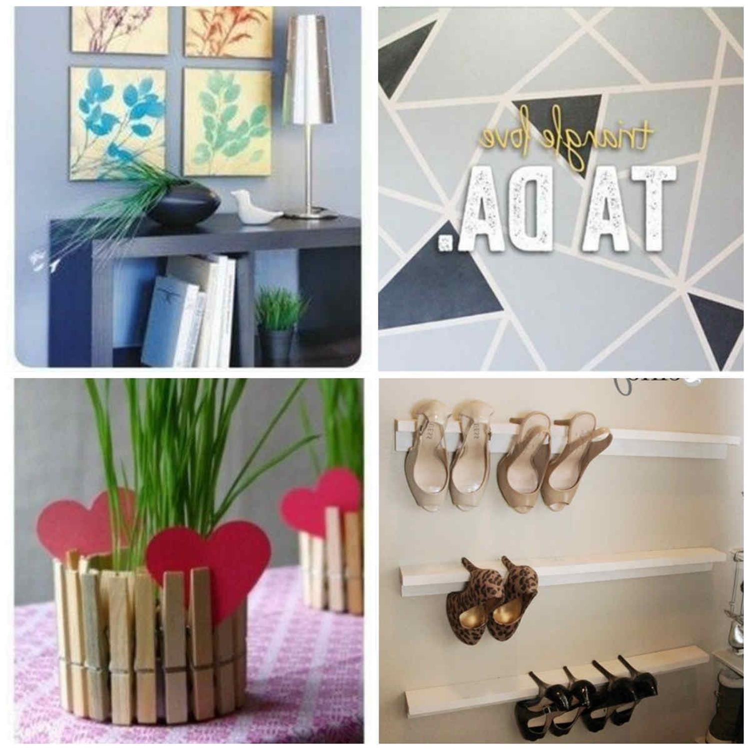 Creative Homemade Crafts for House Decorations Ideas 44