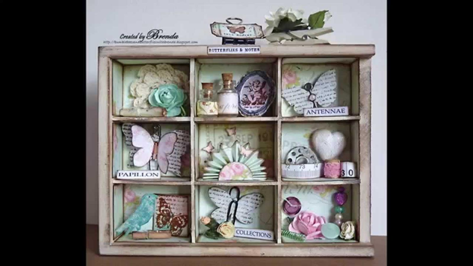 DIY Easy Shabby Chic Arts and Crafts Ideas 31