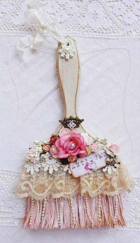 DIY Easy Shabby Chic Arts and Crafts Ideas 46