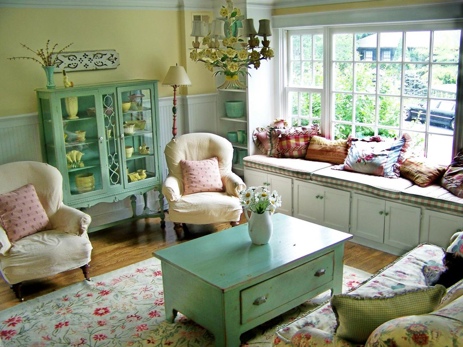 Perfect Shabby Chic Furniture and Decorating Ideas 41