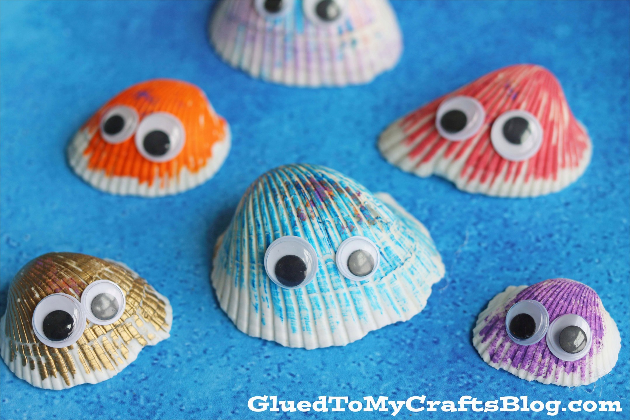 40 Diy Easy Seashell Craft Ideas 84 Simple Seashell Friends Kid Craft Glued to My Crafts 5