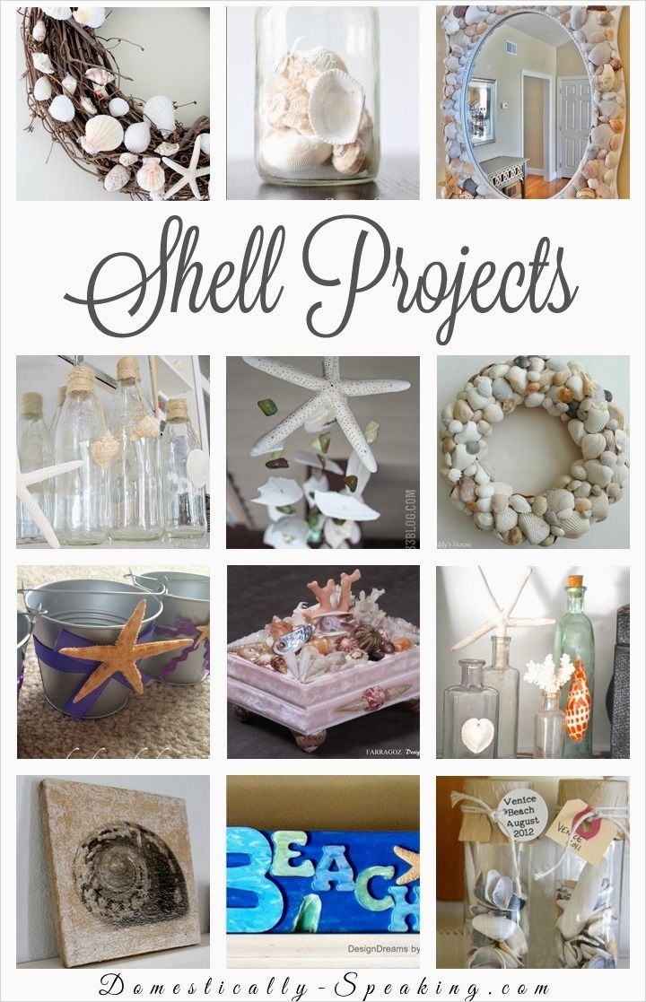 40 Diy Easy Seashell Craft Ideas 58 350 Best Shell Crafts Images On Pinterest 9