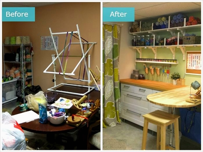 Ikea Craft Room Makeover 65 See How the Ikeahometour Squad Turned A Messy Craft Room Into A Beautiful organized Space to 8