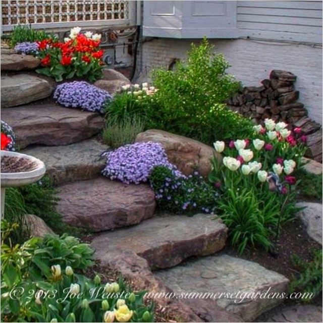 44 Amazing Rustic Garden Ideas 77 Rustic Garden Steps Traditional Landscape New York by Summerset Gardens Joe Weuste 6