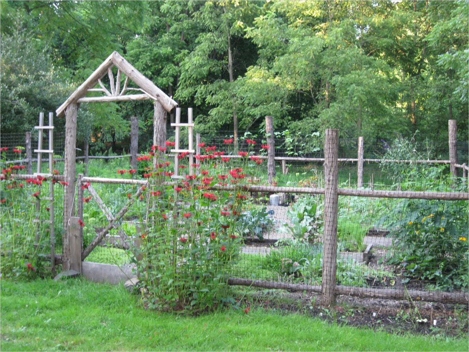 44 Amazing Rustic Garden Ideas 13 Two Men and A Little Farm Inspiration Thursday Rustic Garden Fence 9