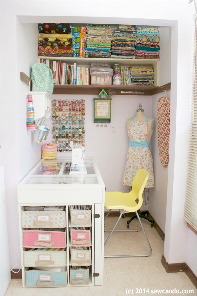 Sewing Room Ideas for Small Spaces 86 Small Room Design Small Sewing Room Designs organization Ideas and Layouts Beautiful Small 2