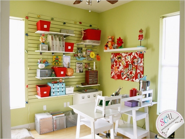 Sewing Room Ideas for Small Spaces 29 Sewing Room Ideas 8