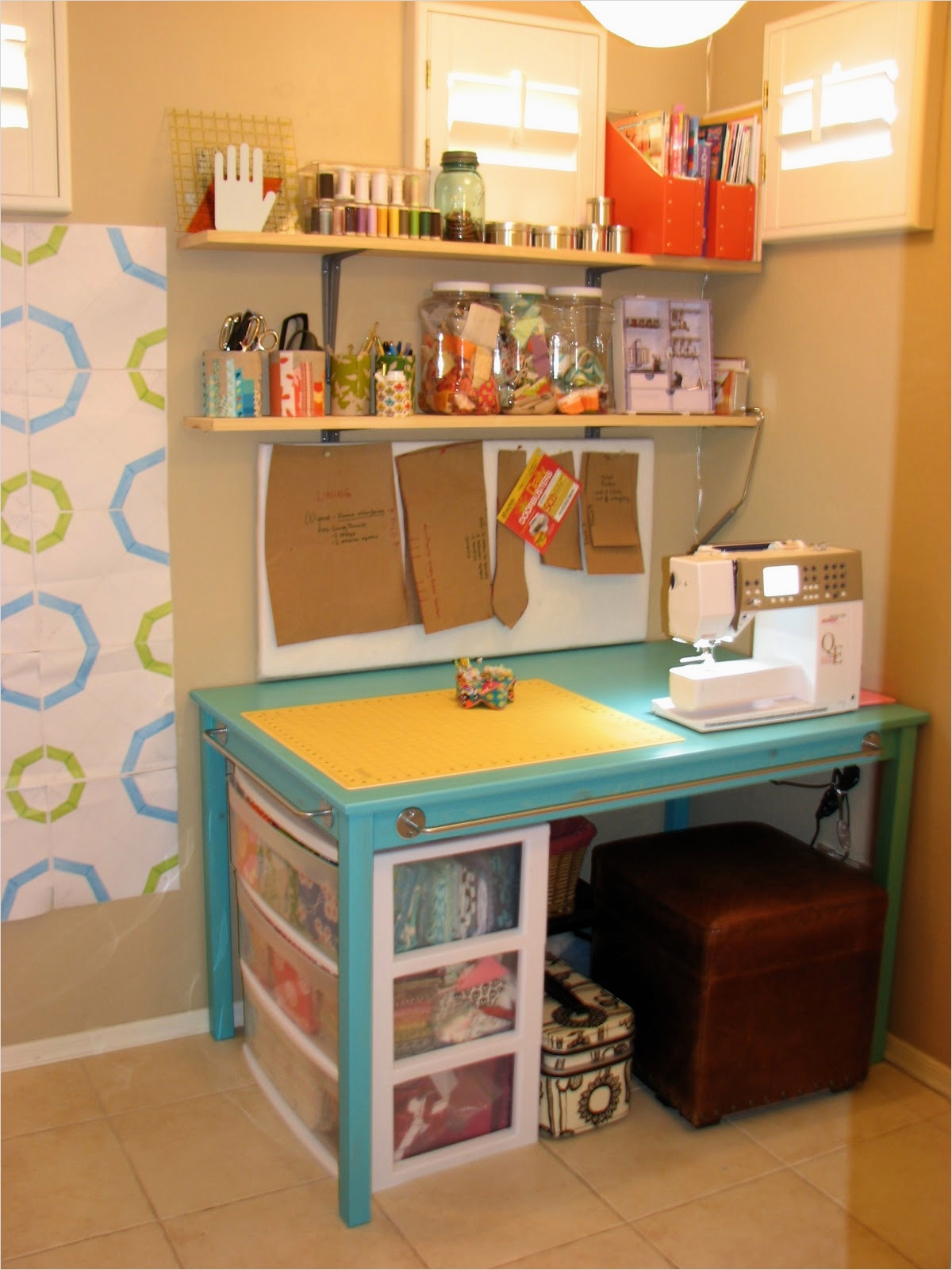 Sewing Room Ideas for Small Spaces 55 I D Sewing Room 7