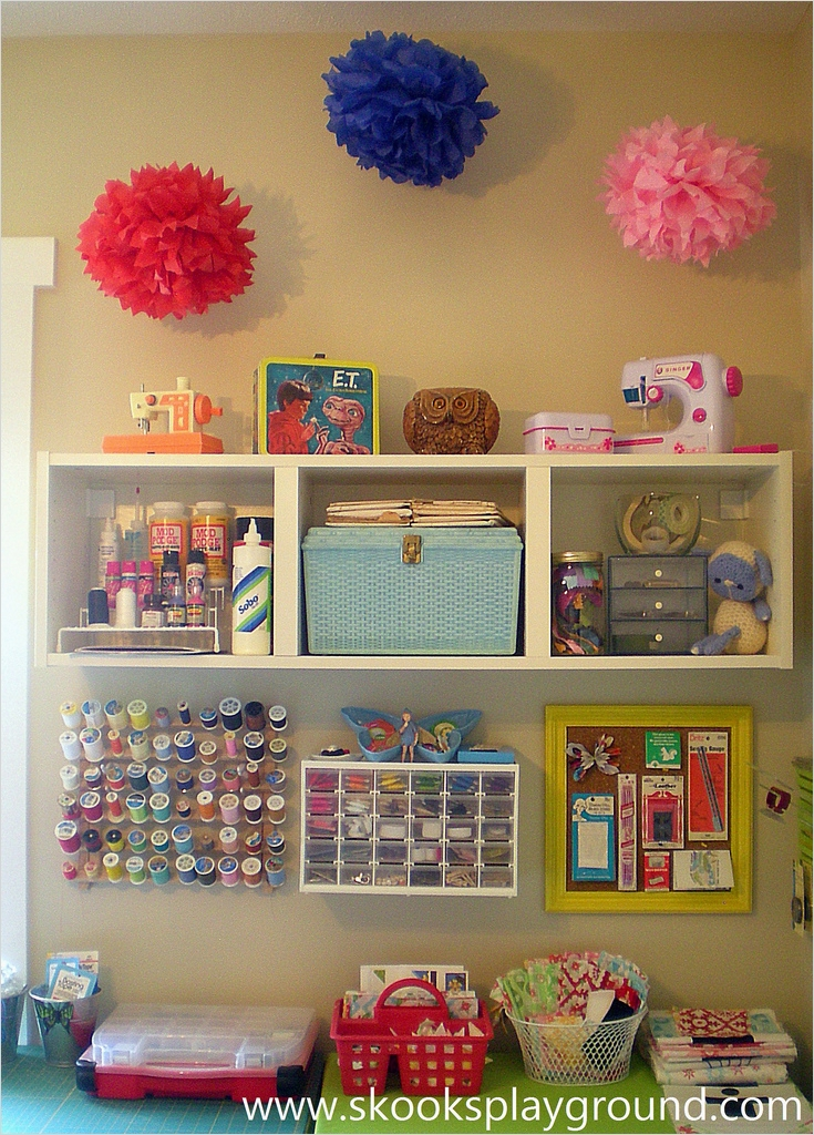 Sewing Room Ideas for Small Spaces 53 Let It Shine Design Big Creativity From A Small Space 2