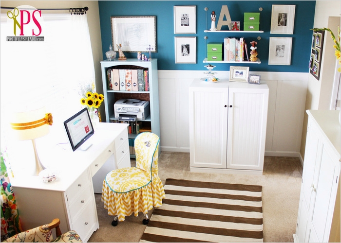Sewing Room Ideas for Small Spaces 66 Sewing Room Home Fice Reveal Positively Splendid Crafts Sewing Recipes and Home Decor 5