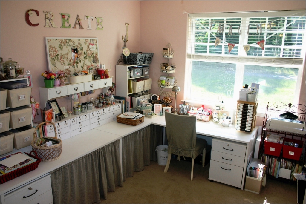 Sewing Room Ideas for Small Spaces 73 Craft Room Design Ideas 8