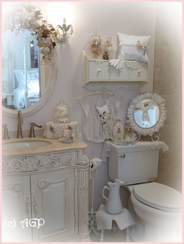 Shabby Chic Bathroom Accessories 53
