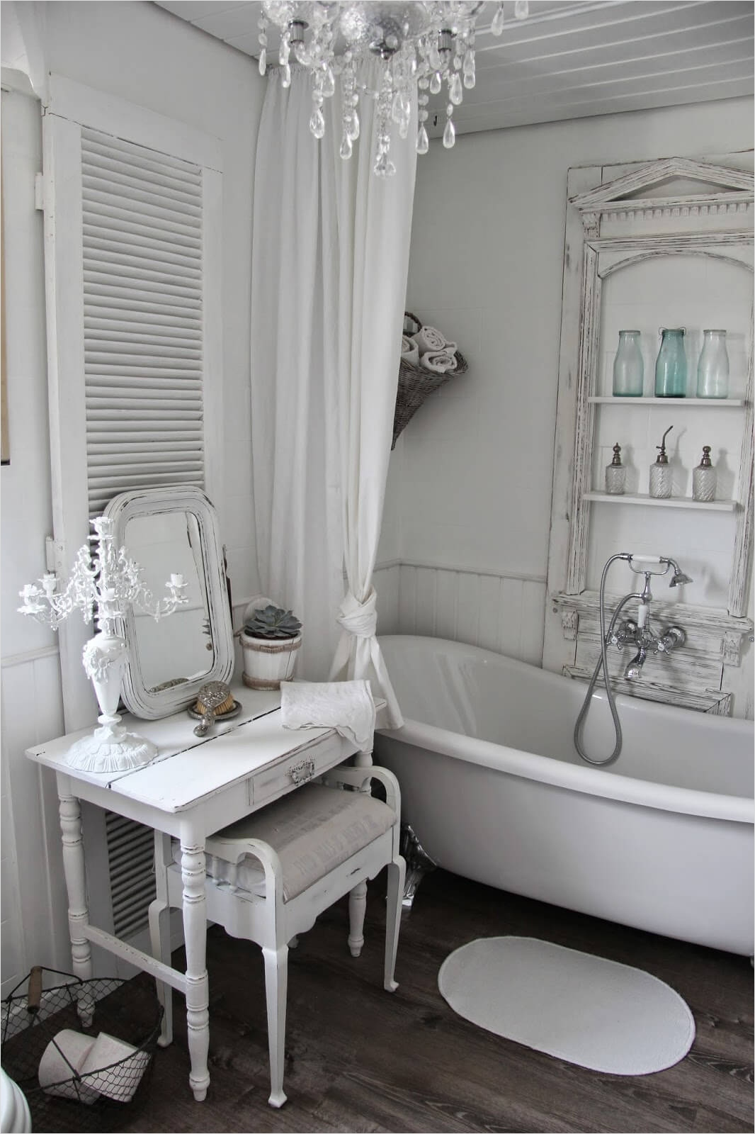 Shabby Chic Bathroom Accessories 57