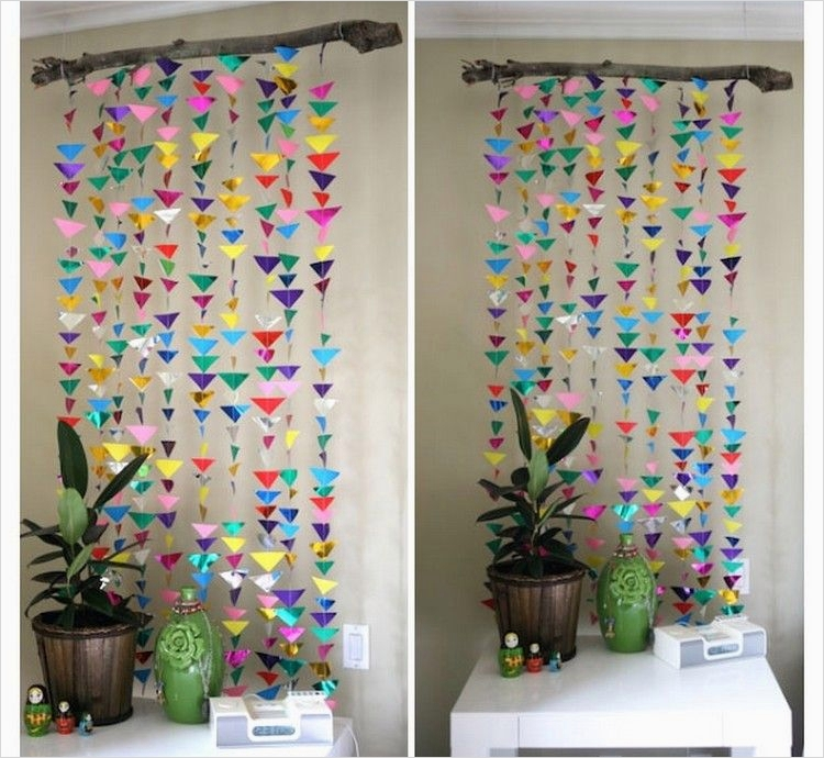 44 Creative Craft Wall Decoration Ideas 37 Diy Upcycled Paper Wall Decor Ideas 4