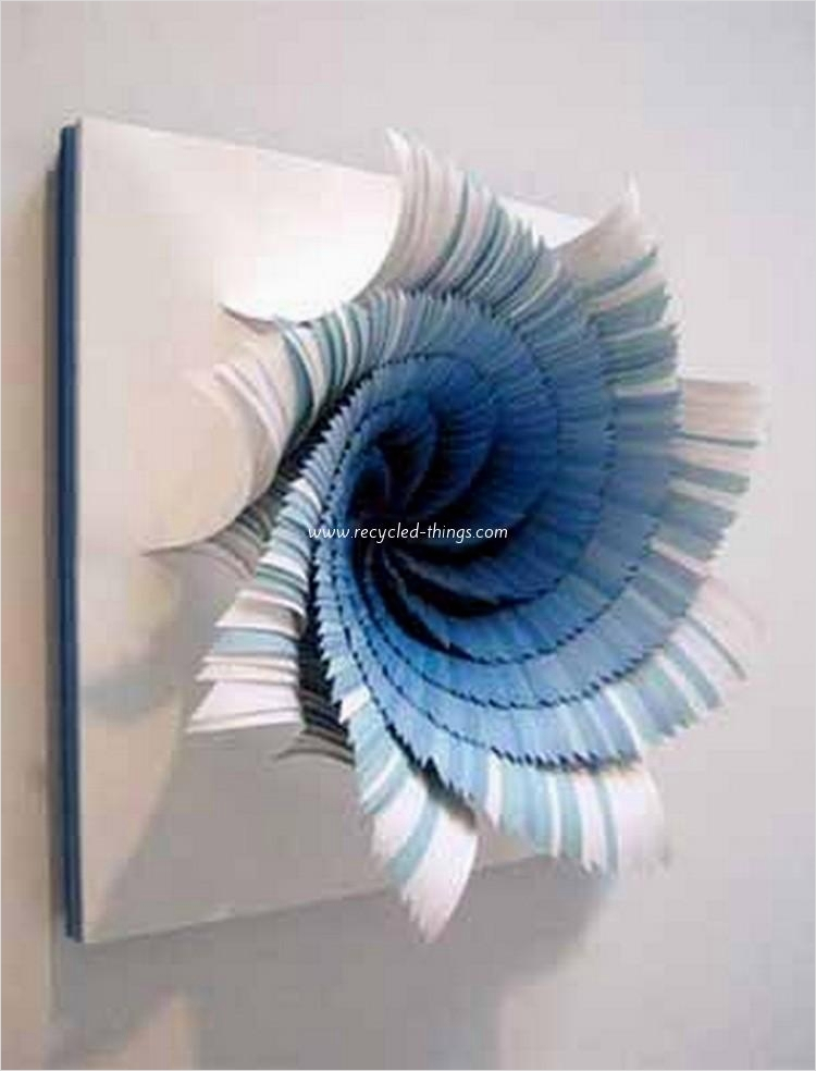 44 Creative Craft Wall Decoration Ideas 59 Wall Decor Ideas with Paper 9