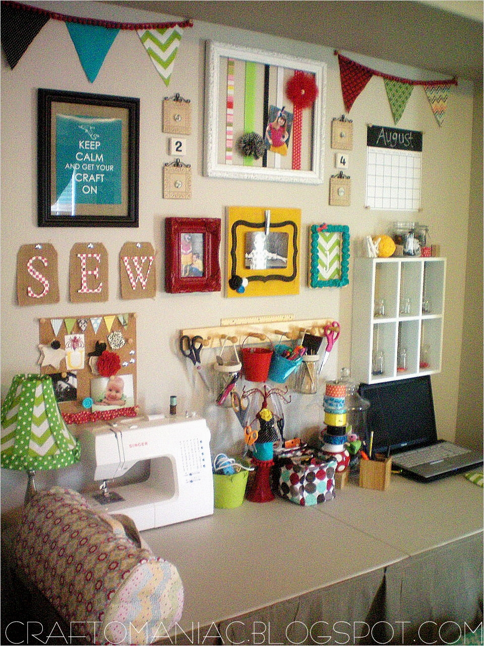 40 Creative Sewing Room Storage Ideas 27 Craft Room organization 6