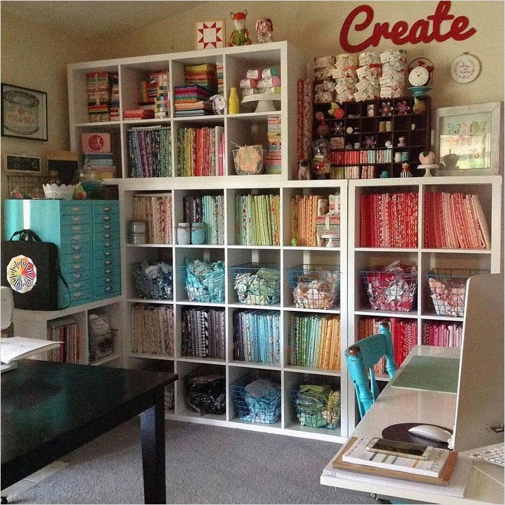 40 Creative Sewing Room Storage Ideas 85 581 Best Images About Creative Spaces On Pinterest 9