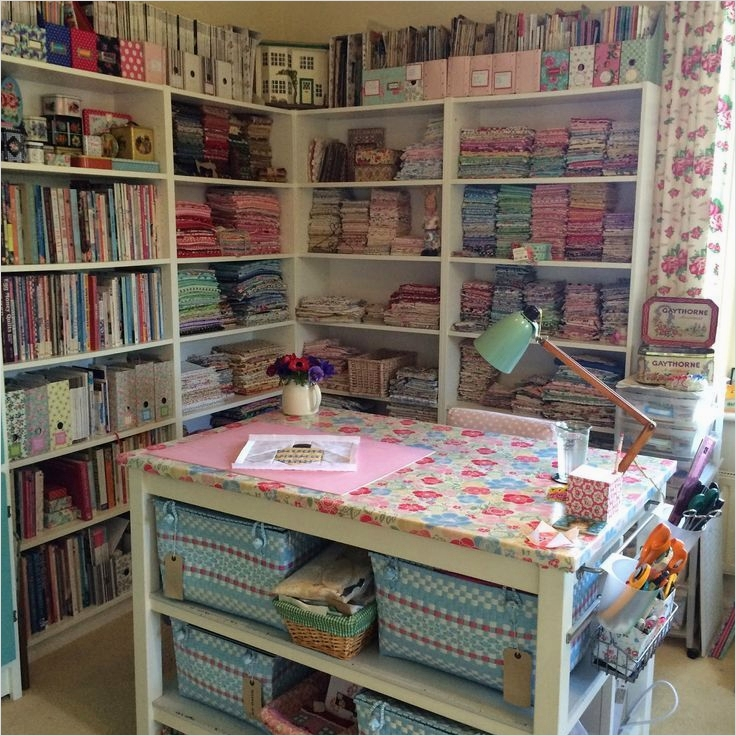 40 Creative Sewing Room Storage Ideas 22 1551 Best Sewing Room Decorating Ideas Images On Pinterest 8
