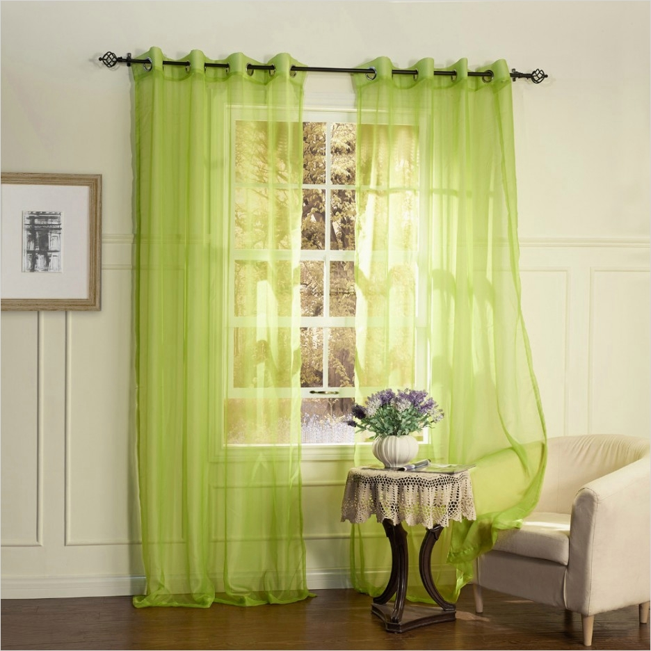 41 Stunning Simple Living Room Curtain Ideas 97 Refreshing Sheer Green Simple Curtain Design for Living 9