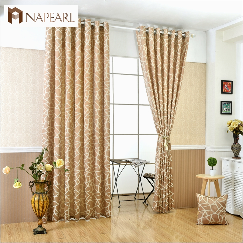 41 Stunning Simple Living Room Curtain Ideas 19 Geometric Jacquard Modern Curtains Simple Design Living 6