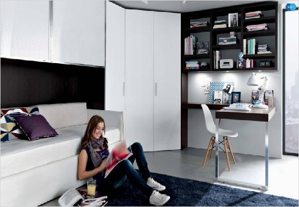 42 Stylish Bedrooms for Teenage Girls 22 Key Interiors by Shinay Cool Modern Teen Girl Bedrooms 3