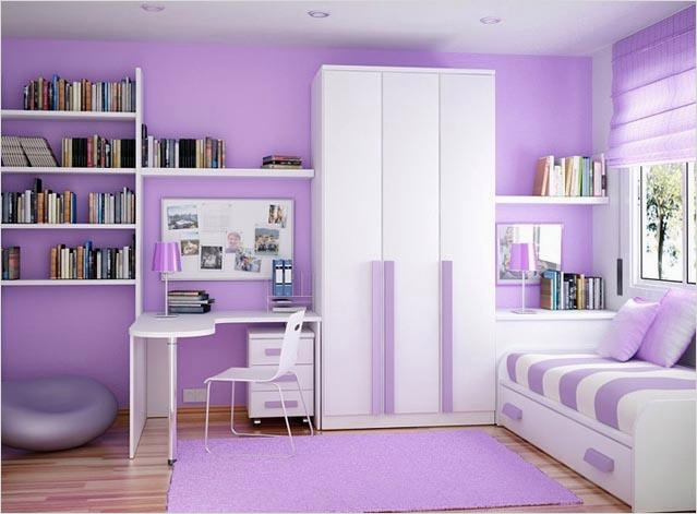 42 Stylish Bedrooms for Teenage Girls 36 Modern Teenage Girl Bedroom with Colorfull Decoration 9