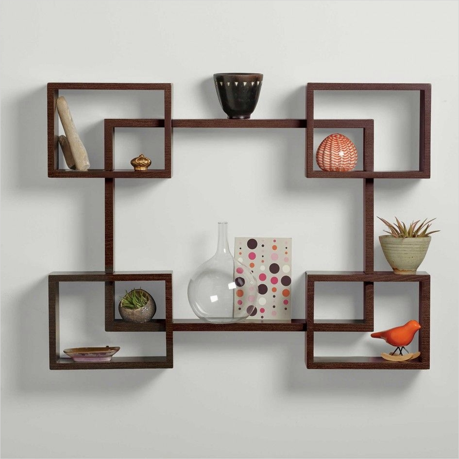 45 Amazing Unique Wall Shelves Ideas 28 Decorative Wall Shelves Contemporary Size solid Wood Wall Display Bookcase Wall 8