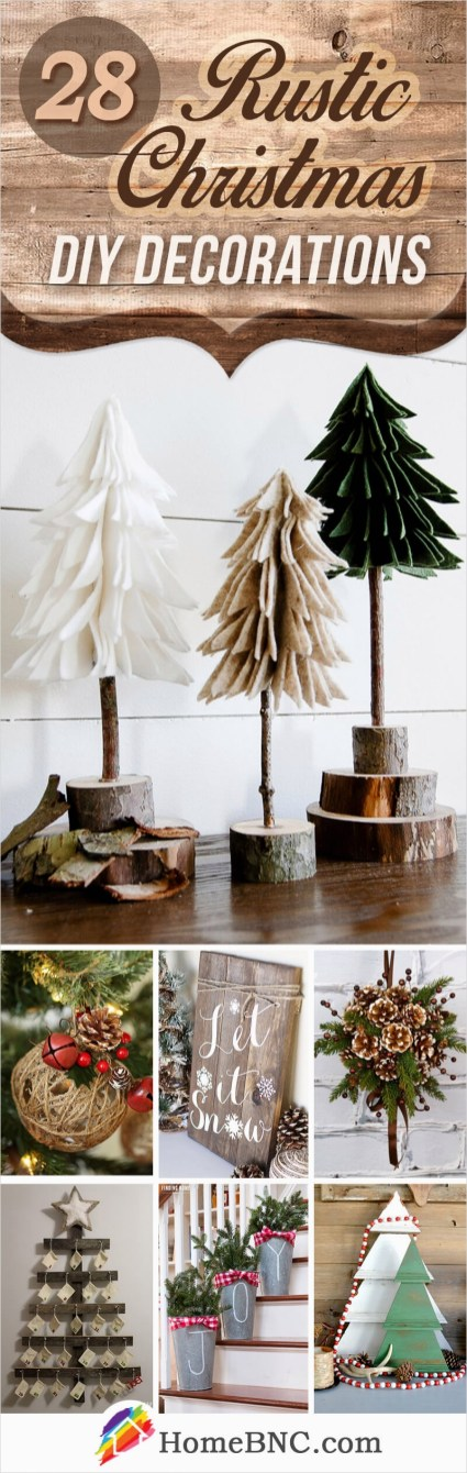45 Diy Rustic Christmas Decorations 99 28 Best Rustic Diy Christmas Decor Ideas and Designs for 2018 7