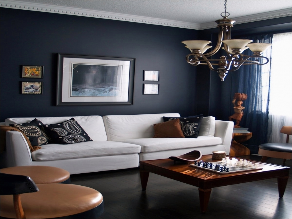 41 Amazing Navy Blue and White Living Room 32 Dark Blue Interior Designs Green Living Rooms with Dark Navy Blue Walls with White sofa and 1