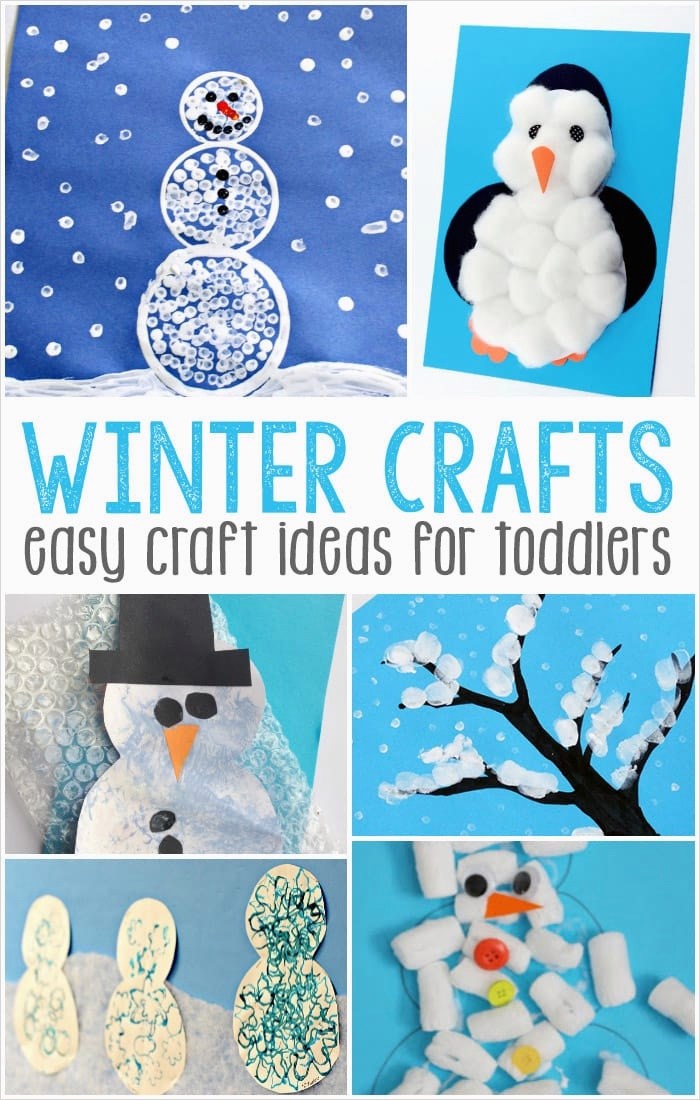 40 Diy Easy Winter Crafts 27 Simple Winter Crafts for toddlers Easy Peasy and Fun 1