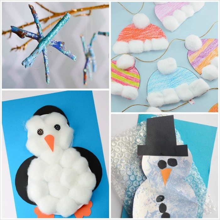 40 Diy Easy Winter Crafts 34 Simple Winter Crafts for toddlers Easy Peasy and Fun 2