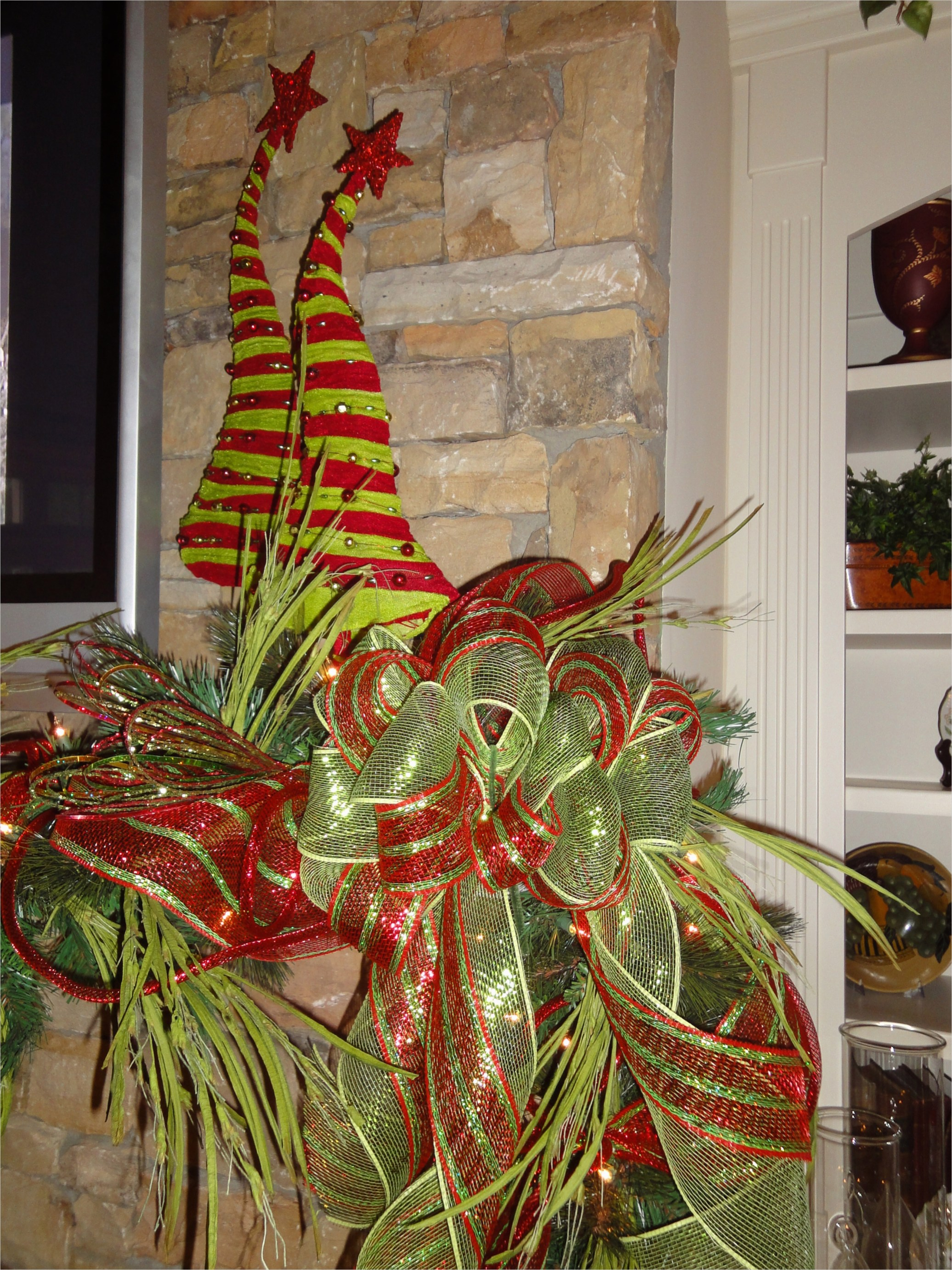 41 Awesome Whimsical Christmas Tree Decorating Ideas 57 the 4th Day Of Christmas…time to Decorate the Mantle 6