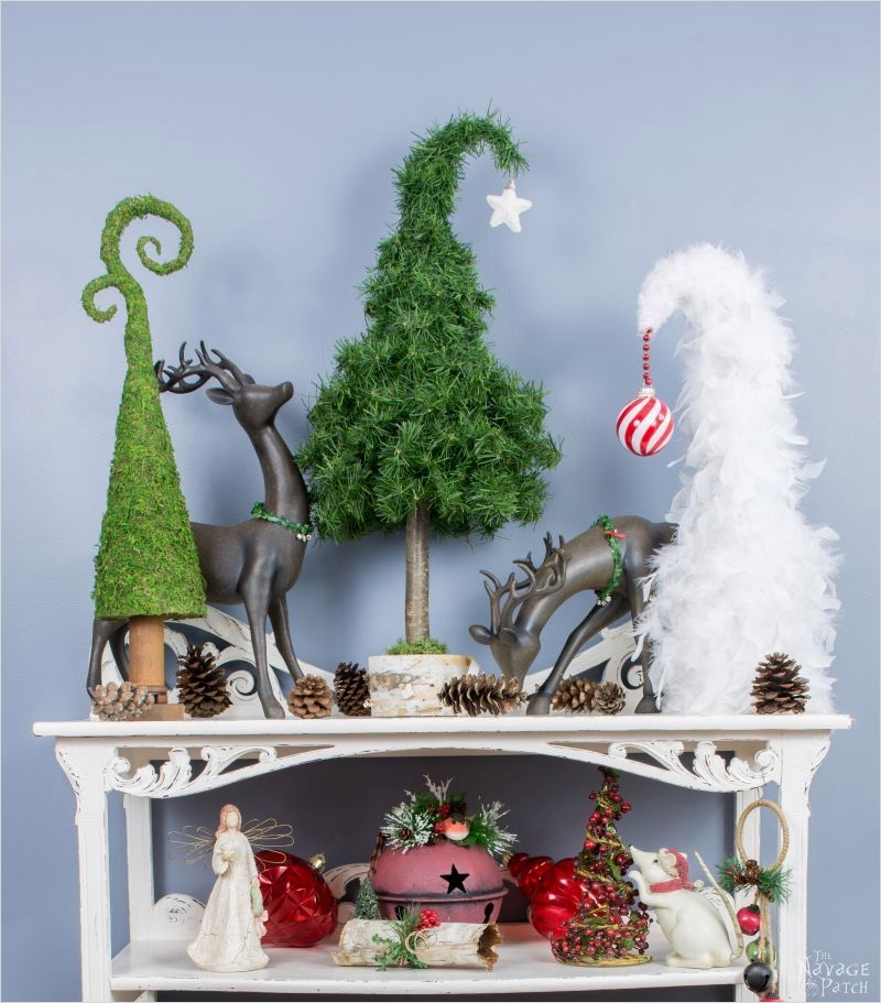 41 Awesome Whimsical Christmas Tree Decorating Ideas 69 20 Amazing Diy Christmas Table Decoration Ideas 2