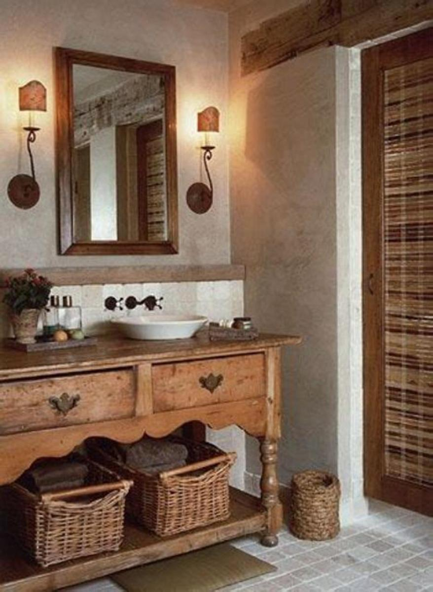 30 Best Rustic Bathroom Design and Decoration Ideas 2019 1