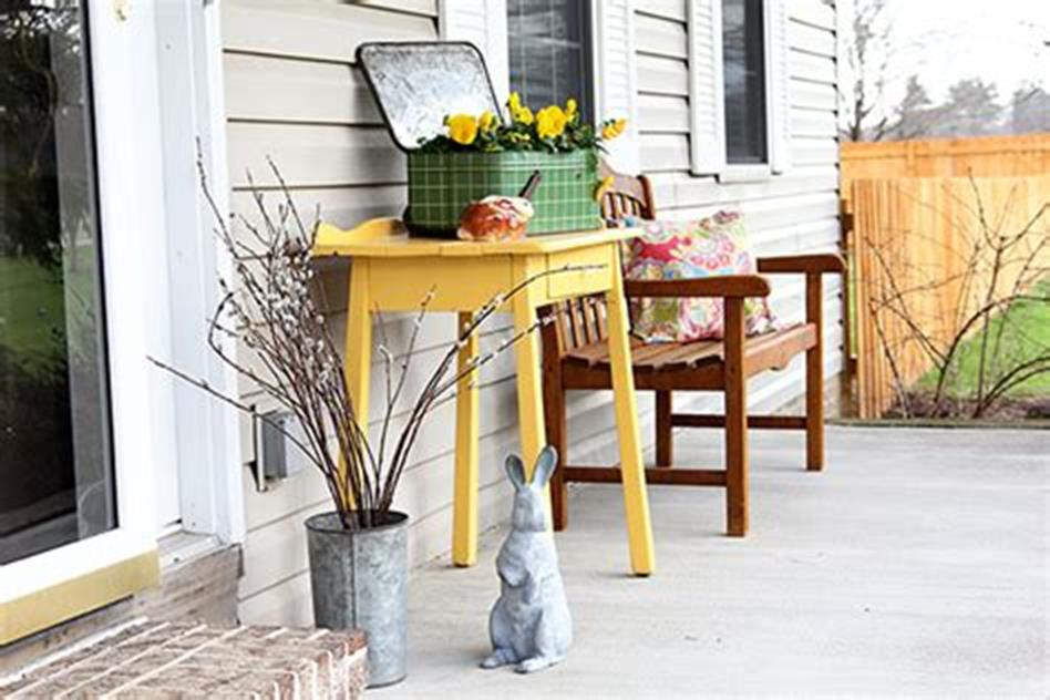 40 Beautiful Spring Front Porch Decorating Ideas You Will Love 18