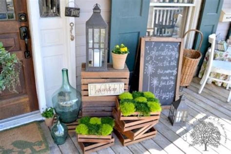 40 Beautiful Spring Front Porch Decorating Ideas You Will Love 19