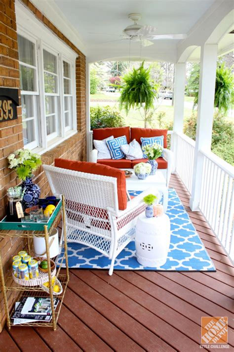 40 Beautiful Spring Front Porch Decorating Ideas You Will Love 6